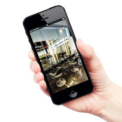 Wirtualny spacer google street view tablet